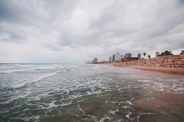 pláže Tel Avivu_travelhacker