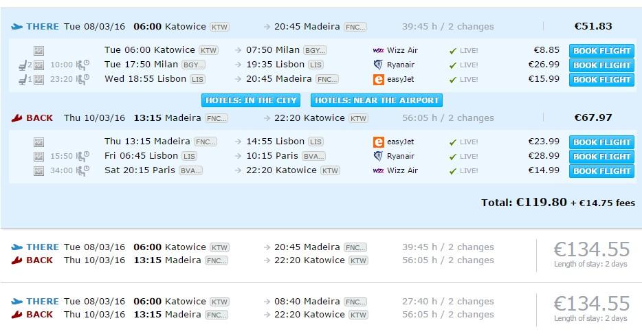 Madeira_letenky_Katowice_Lisabon_milano_travelhacker