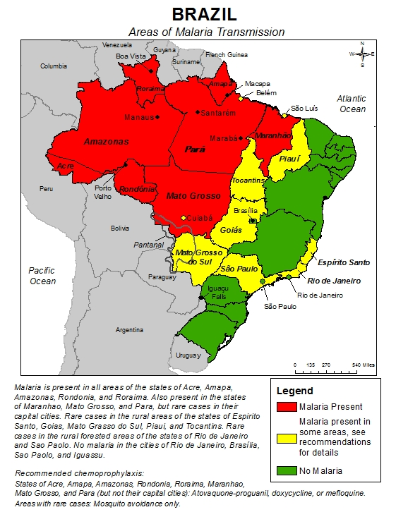 mapa_malária_ohrozené_krajiny_travelhacker