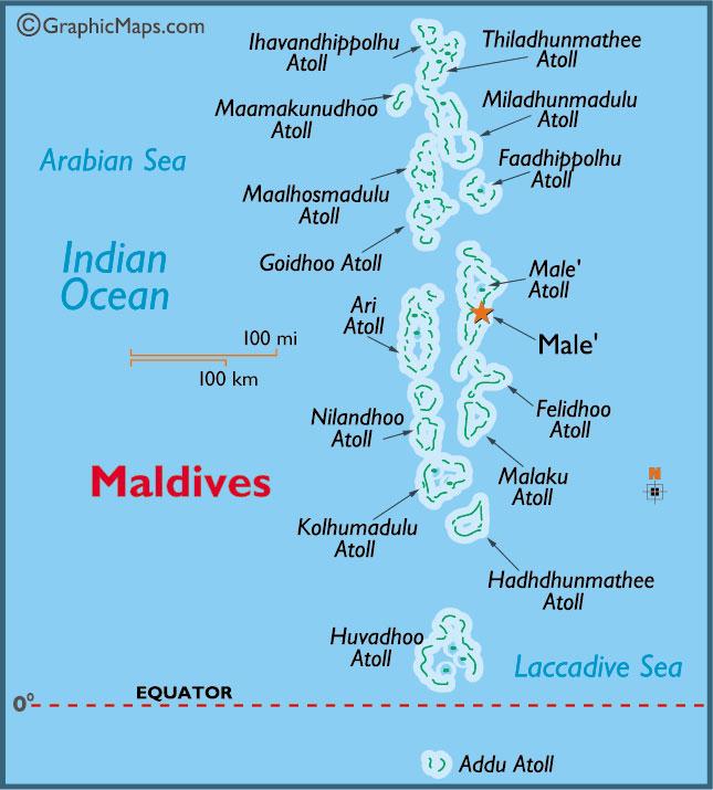 Maldivy mapa_plaž_travelhacker