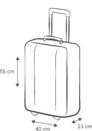 b5c373d07a7c2 ... stále množstvom povolenej príručnej batožiny vedie Ryanair, kde si  môžeš na palubu zobrať okrem veľkej príručnej batožiny aj kabelku.