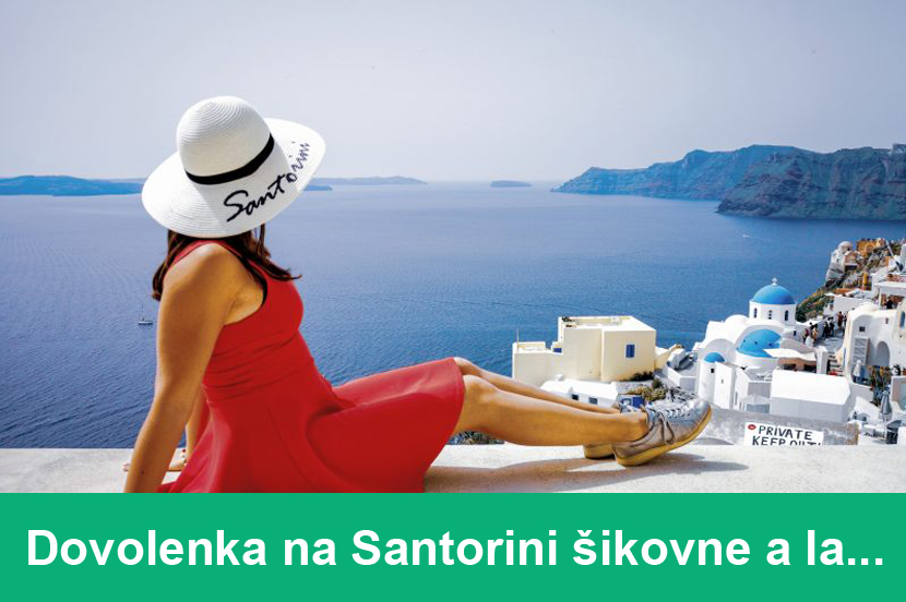Santorini, Grécko
