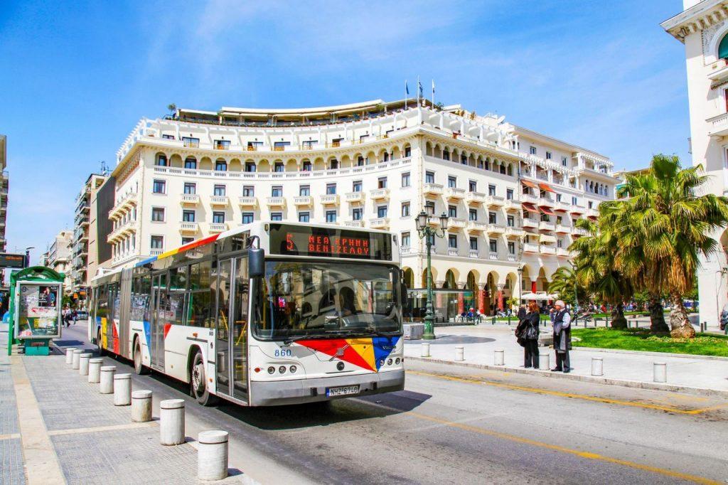 Thessaloniki, bus