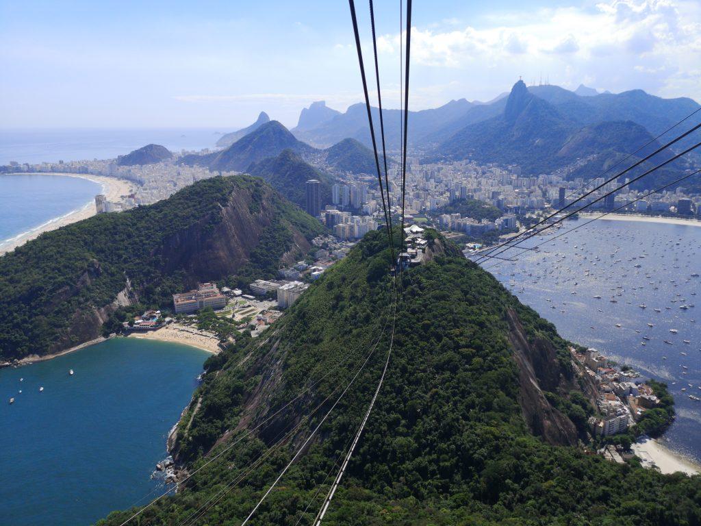 Výhľad na mesto Rio de Janeiro