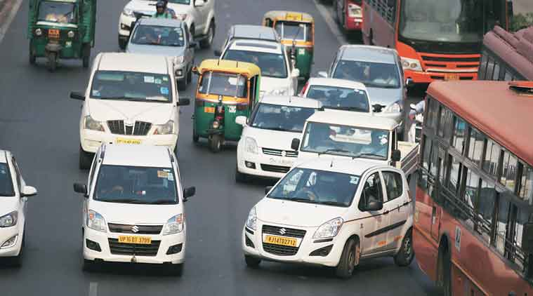 Delhi, taxi