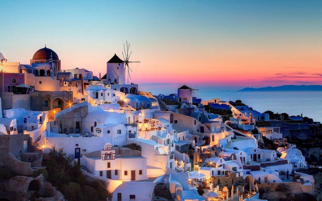 Santorini na Valentína