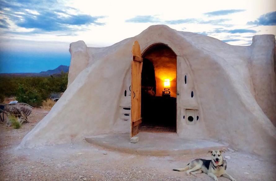 airbnb v pusti