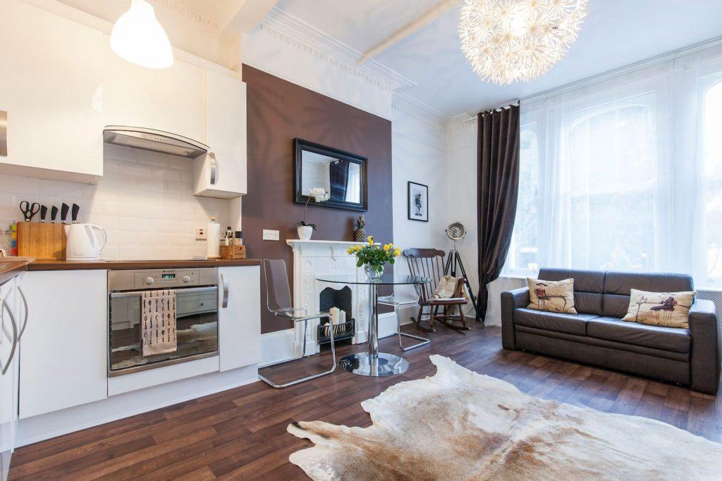 airbnb londýn