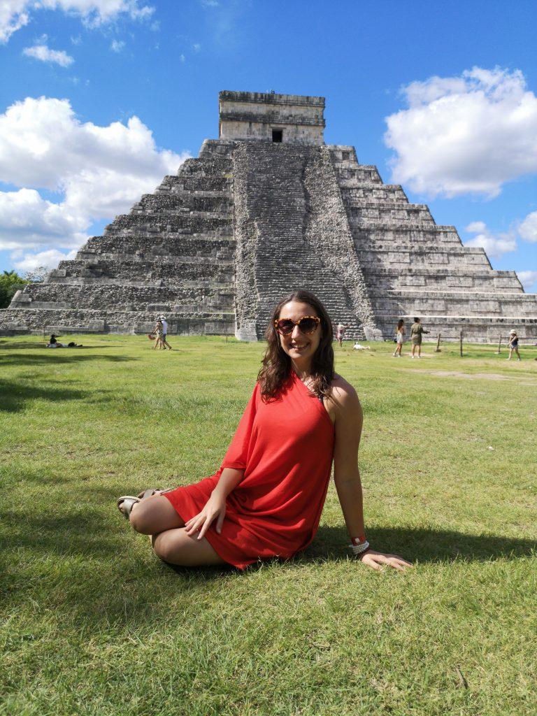 Chichen Itza v Mexiku