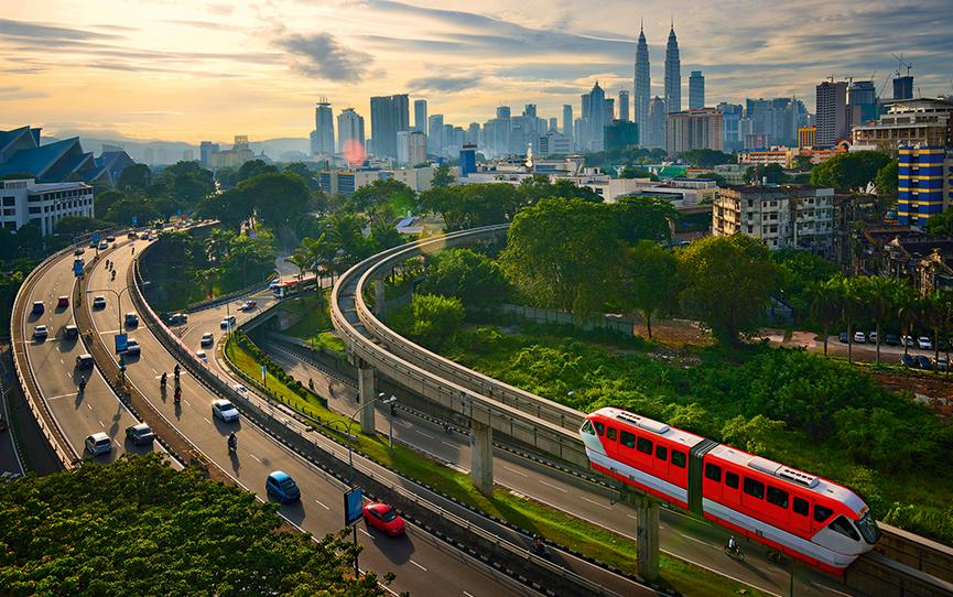Kuala Lumpur, doprava