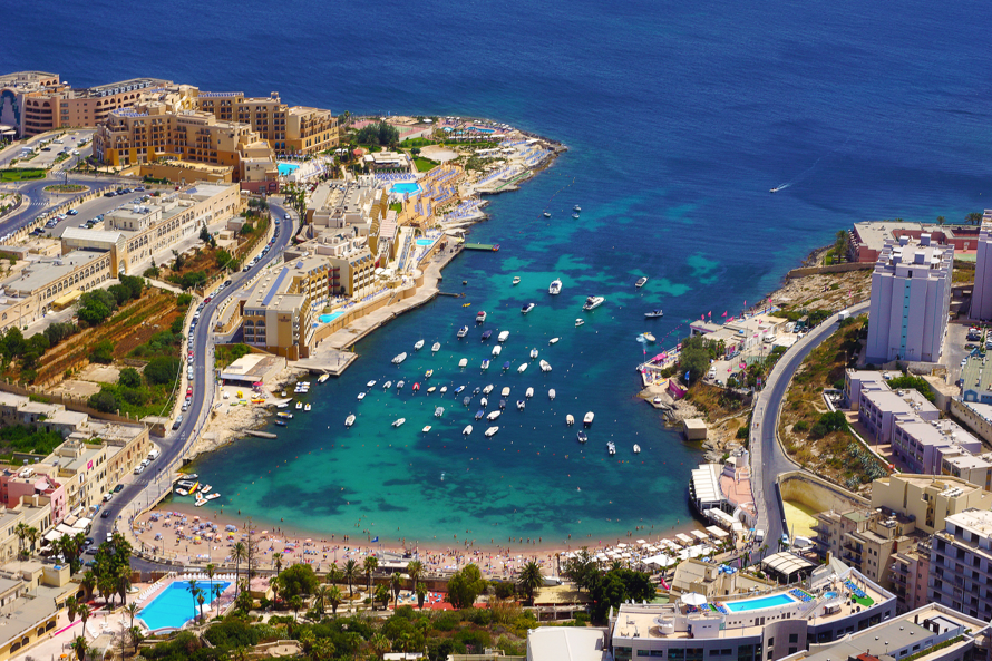 St. Georges Bay, Malta