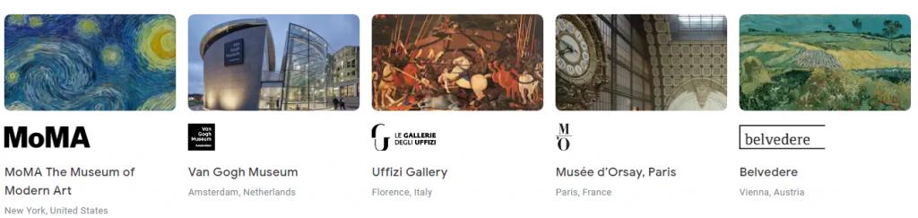 virtuálne múzeá