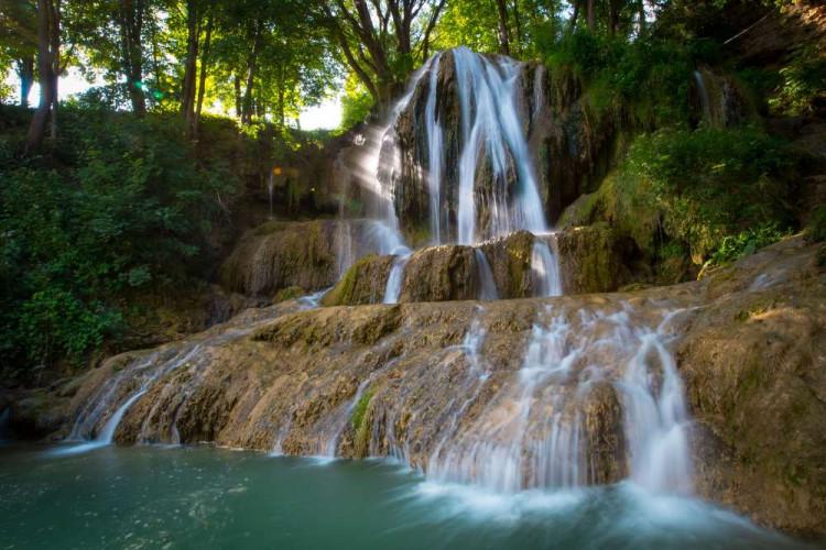 Lučanský vodopád, Lúčky
