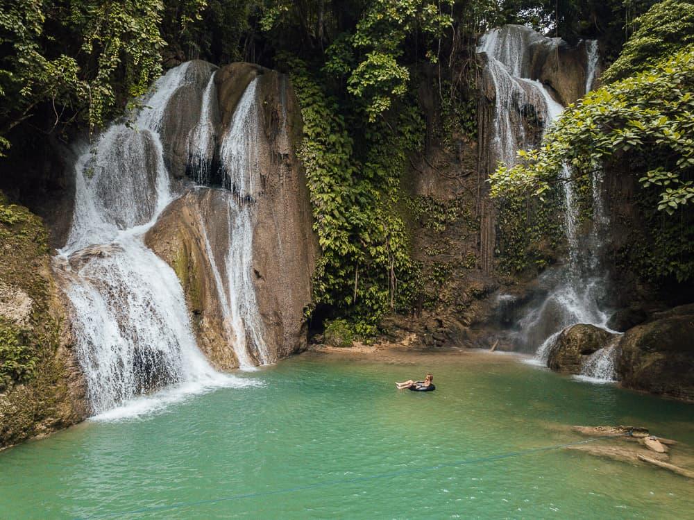 Bohol vodopády, Filipíny