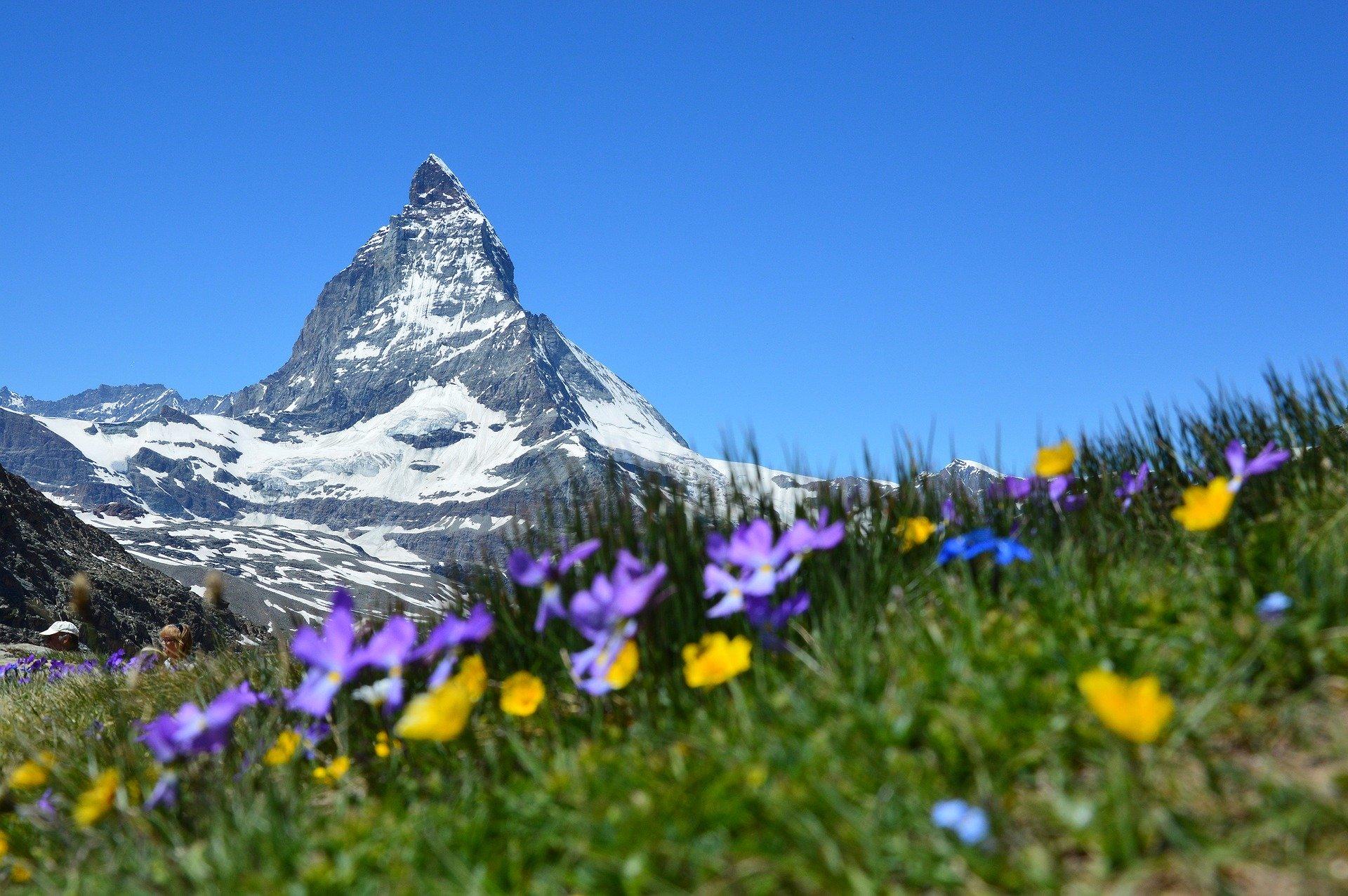 Matternhorn, Švajčiarské Alpy