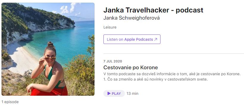 iTunes, podcast_Janka Travelhacker