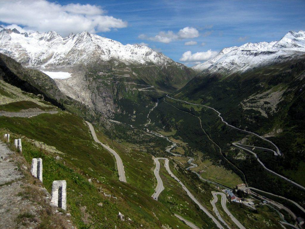 horsky prechod, Svajciarsko