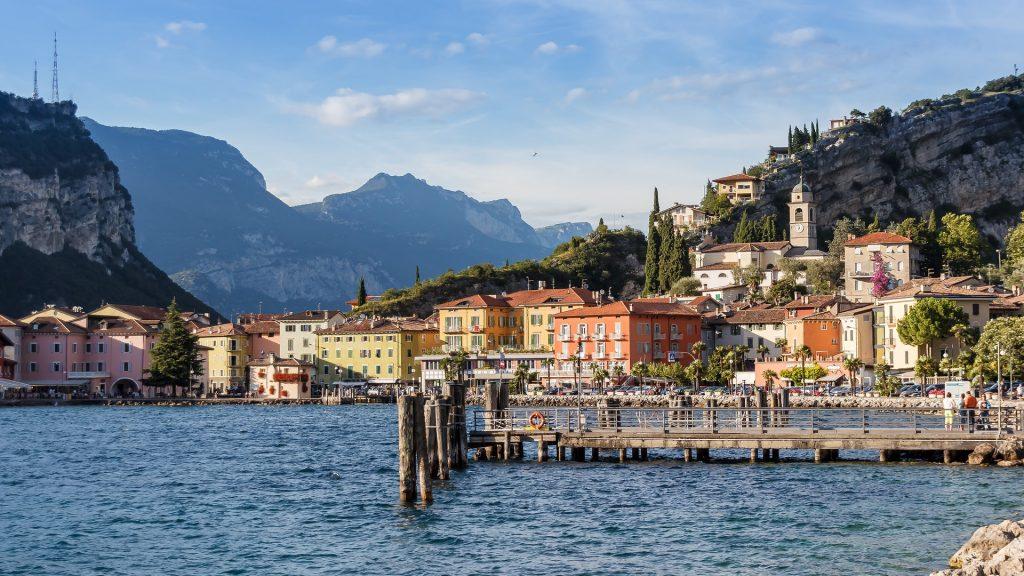 jazero Garda, Taliansko