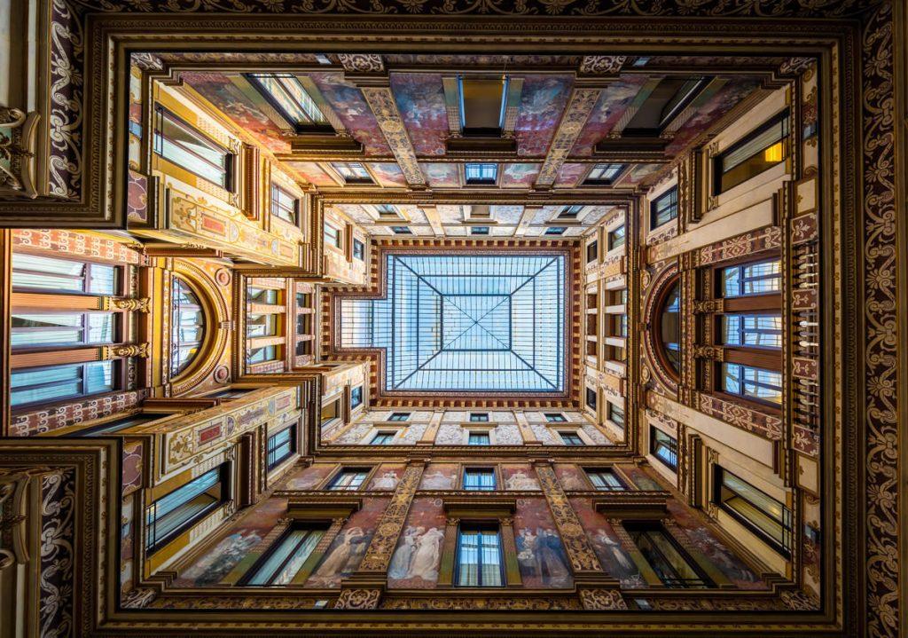 Galleria Sciarra, Rím, Taliansko