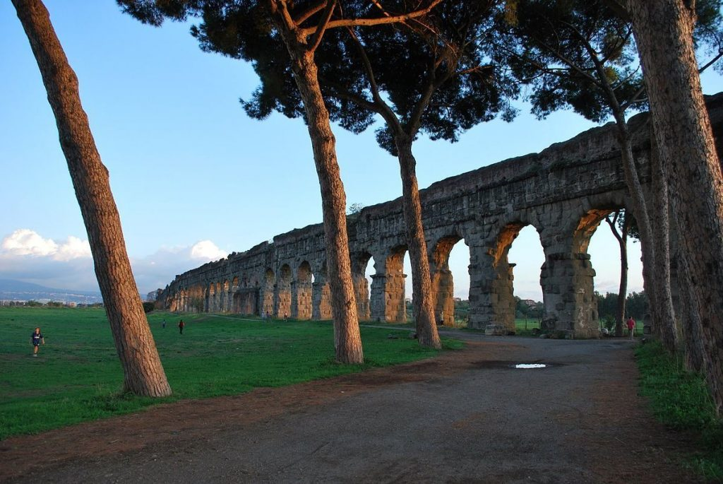Parco_degli_acquedotti, RIm, Taliansko