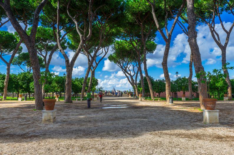 Giardino degli Aranci, Rím, Taliansko