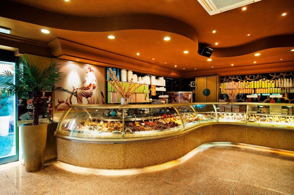 gelateria della palma, Rím