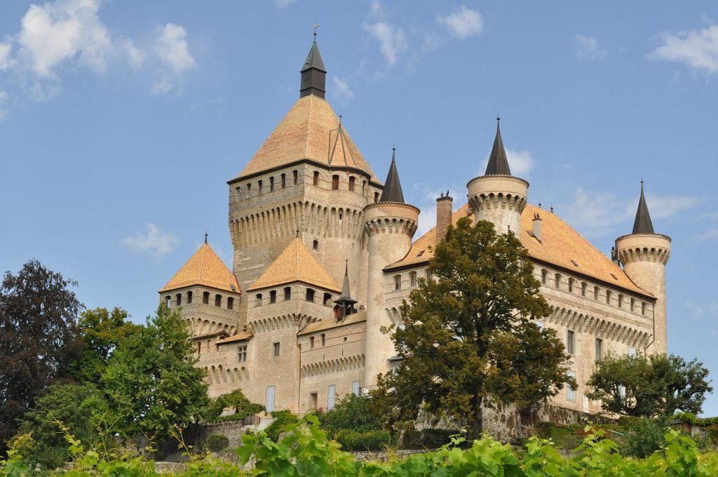 Vufflens hrad, Švajčiarsko