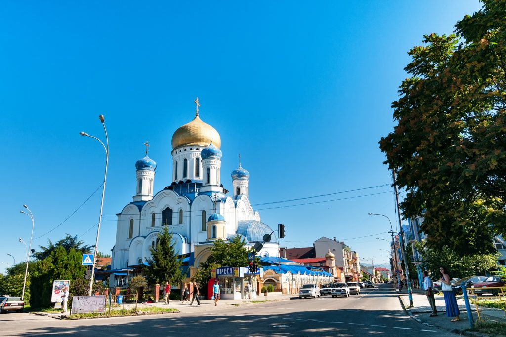 Užhorod, Ukrajina