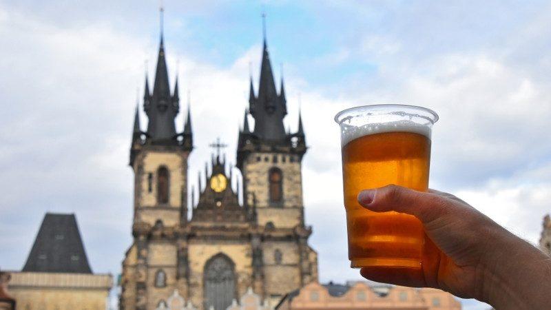 Česko, pivo
