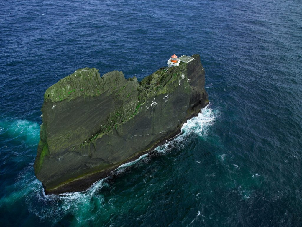 Þrídrangaviti Lighthouse, Island