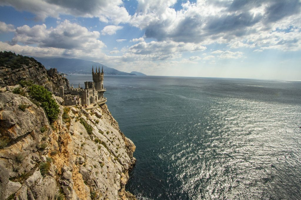 The Swallow's Nest, polostrov Krym