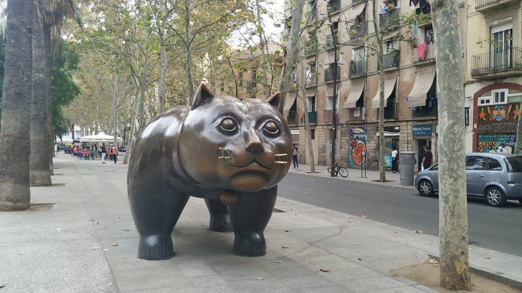 El Gat de Botero Barcelona