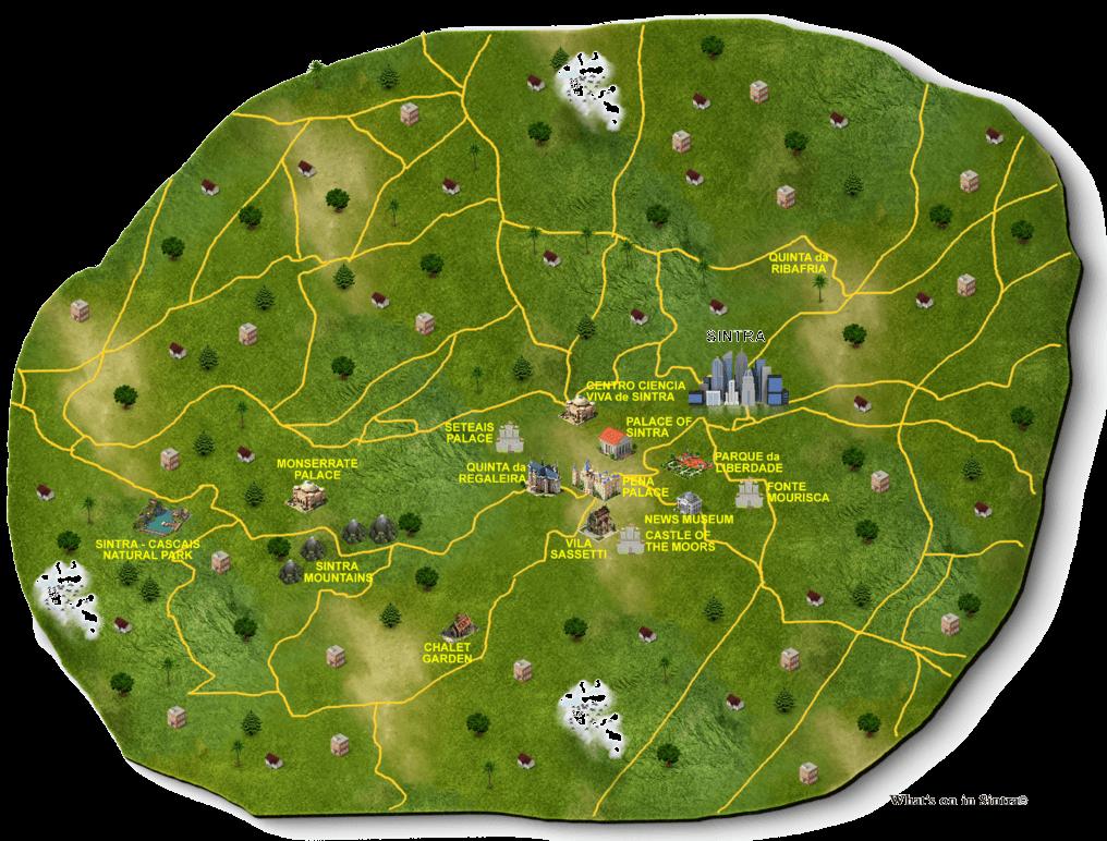 sintra mapa